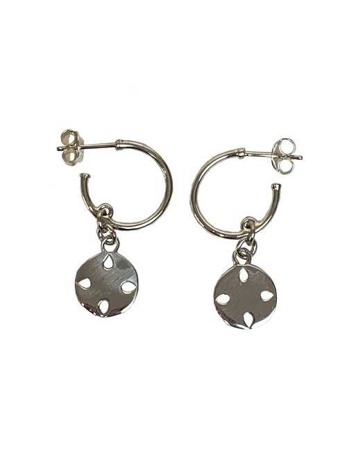 Rico Designs sterling silver hoop earrings