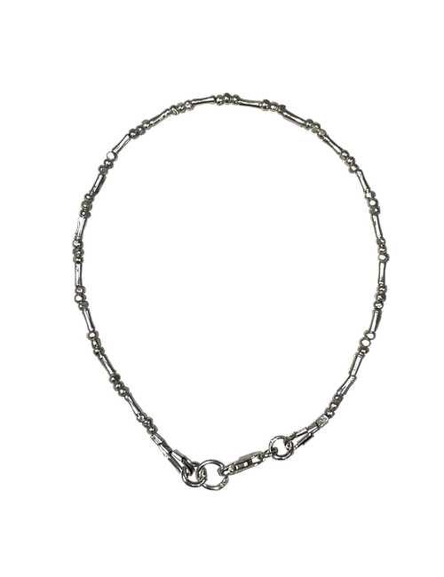 Minimal simplistic silver bracelet